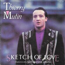 "Thierry Mutin 7"" Sketch Of Love (Adaptation De La Sarabande De Haendel) - France"