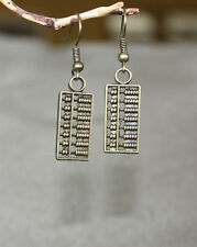 Abacus earrings perfect calculator little bean counter for all your accounting
