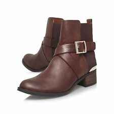 VINCE CAMUTO BROWN LEATHER ANKLE  BOOTS..UK 5    US 8  EU 38 .. DISCOUNTS NOW ON
