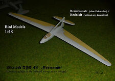 "Lippisch DFS 42 ""KORMORAN"" 1/48 Bird models resinbausatz/RESIN KIT"
