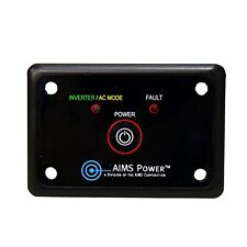 AIMS Power REMOTEHF Flush Mount Power Inverter Remote On/Off Switch