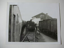 EIRE38 - 1950s CIE IRISH RAIL RAILWAY ~ STEAM TRAIN PHOTO Ireland