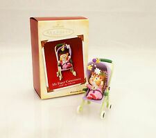Hallmark Keepsake Ornament  2005 My First Christmas - Baby Girls - #QXG4565-SDB