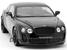 WELLY 1:18 18038 2013 BENTLEY CONTINENTAL SUPERSPORTS COUPE BLACK NEW DIECAST