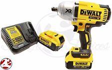 "New DeWALT DCF899P2  20V MAX Cordless Li-Ion 1/2"" Impact Wrench 4.0 Battery Kit"