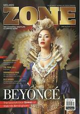 Midlands Zone Magazine - April 2013 - Beyonce Cover/Elly Barnes