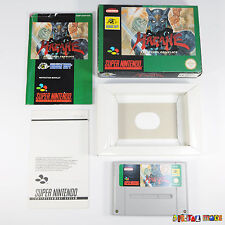 Hagane The Final Conflict - BOXED WITH MANUAL- VGC- Super Nintendo SNES Game PAL