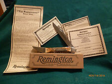 "Remington 2017 ""The Powderhorn"" Stag Bullet Knife Ltd. Ed. 1 of 1,200"