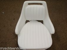 HELMSMAN CHAIR & CUSHION 114 ST2071HD SEAT CUSHIONS WHITE BOATINGMALL EBAY BOAT