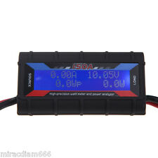 FT08 RC 150A Hight Precision Watt Meter and Power Analyzer + Backlight LCD