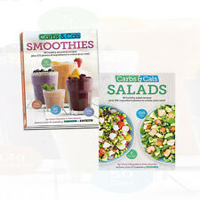 Carbs & Cals Salads By Chris Cheyette Collection 2 Books Set Smoothies New Pack