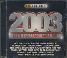 All The Hits 2003 - Vasco Rossi/Coldplay/Tiziano Ferro/Planet Funk Cd Sigillato