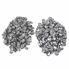 500pcs  28L Fabric Cover Button 14mm DIY Kit With Metal Studs Flat Back Buttons