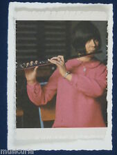 ak~ handmade greetings / birthday card 60s FLUTE PLAYER