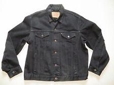 Levi's Biker Jacke Jeansjacke Gr. XXL, Schwarz ! Original Black Denim, wie NEU !