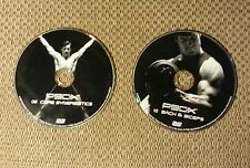 2 - P90X DVDs #8 Core Synergistics AND #10 Back and Biceps!  FREE SHIPPING!!!!