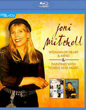 Joni Mitchell: Woman of Heart and Mind/Painting with Words and Music (Blu-ray...