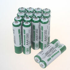 Lot of 16 PCS AAA 1350mAh Rechargeable 1.2V NiMh BTY Battery 3A Set