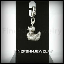 Authentic Pilgrim Silver Plated Ugly Duckling Pendant  444019