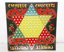 NEW DECORATIVE CHINESE CHECKERS SERVING PLATE RED DRAGON ASIAN KIDS PLAYING 10""
