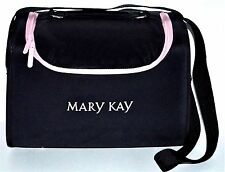 Mary Kay Large Makeup Bag Case Cosmetic Box Travel Srorage Accessories Black Pnk