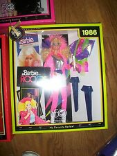 My Favorite Barbie 1986 Barbie & The Rockers Reproduction 50th Anniversary