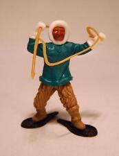 Timpo Toys Eskimo grünes Hemd Hand oben mit Harpune