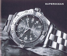 BREITLING SUPEROCEAN ANLEITUNG INSTRUCTIONS I492