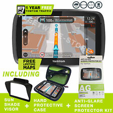 NEW TOMTOM PRO 5250 TRUCK BUNDLE GPS HGV NAVIGATION HD TRAFFIC UPDATES
