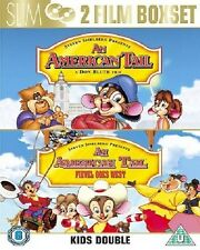 An American Tail / Fievel Goes West DVD Box set Don Bluth New and Sealed UK R2