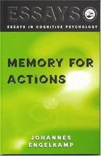 Memory for Actions (Essays in Cognitive Psychology)-ExLibrary