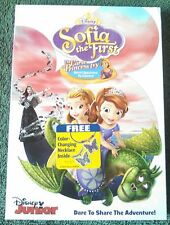 "Disney's Sofia the First ""The Curse of Princess Ivy"" DVD with FREE Necklace(New)"