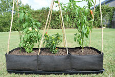 Nutley's Smart Pot Big Bag Bed fabric air pruning vegetable tomato growbag plant