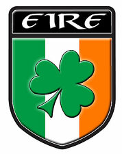 EIRE SHAMROCK  DECAL SIZE 100MM BY 130MM