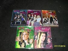SEX AND THE CITY LOT OF 5 DIFFERENT DVD SEASONS COMPLETE USED LIKE NEW