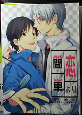 Yuri!!! on Ice YAOI Doujinshi ( Victor x Yuri Katsuki ) simple love
