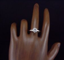 Classic Estate 14k Yellow Gold 1.25 Carat Engagement Ring Solitaire size 7