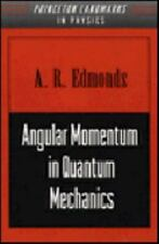 Investigations in Physics: Angular Momentum in Quantum Mechanics No. 4 by A....