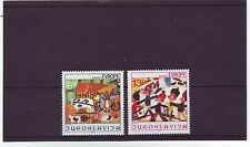 YUGOSLAVIA - SG1999-2000 MNH 1981 13th JOY OF EUROPE MEETING CHILDRENS PAINTINGS