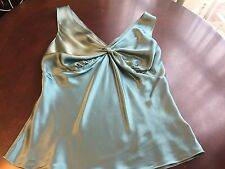 The Limited silk stretch top size L women's