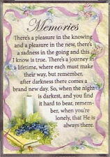 MEMORIES FRIDGE MAGNET 100's OF OTHER RELIGIOUS & INSPIRATIONAL ITEMS LISTED