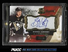 2015-16 The Cup Scripted Swatches Sidney Crosby AUTO PATCH /35 #SW-SC (PWCC)