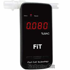 Pro Fuel Cell Sensor Breathalyzer Alcohol Breath Tester BAC Blood Detector Alarm