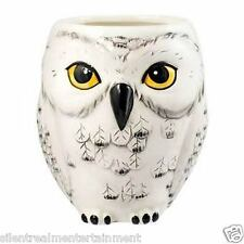 "Harry Potter Hedwig Owl Shaped Mug by Monogram 4 1/2"" Tall"