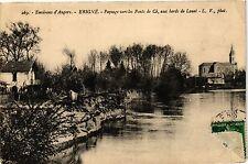 CPA  Environs d'Angers - Erigné -Paysage vers les Ponts de Cé, aux bords(207570)