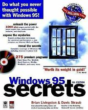 Windows 95 Secrets by Davis Straub and Brian Livingston (1997, Other, Subsequ...