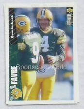 Brett Favre-UD COLLECTORS Choice 1996 #178 playercard (Green Bay Packers)