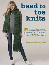 HEAD TO TOE KNITS by Bronwyn Lowenthal : WH1-R2D : PBL642 : NEW BOOK
