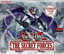 YuGiOh The Secret Forces 1st Edition Booster Box