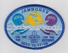 2015 SCOUTS OF CHINA (TAIWAN) - Jamboree On the Air & Internet JOTA JOTI Patch A